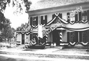 250th Celebration Decorated Buildings - 329 Village St.jpg - 18800 Bytes